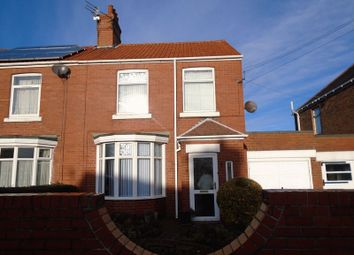 Thumbnail 3 bed semi-detached house to rent in Moorland Avenue, Bedlington