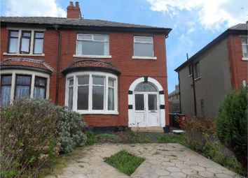 Thumbnail 3 bedroom semi-detached house for sale in Cavendish Road, Blackpool, Lancashire