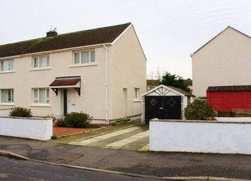 Thumbnail 3 bed semi-detached house for sale in 3 Ross Avenue, Stranraer