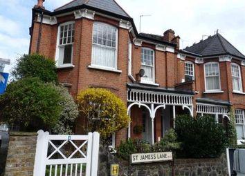 Thumbnail 3 bed maisonette to rent in St. James Lane, London