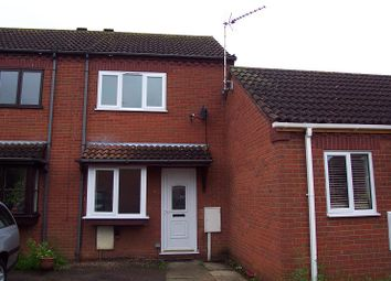 Thumbnail 2 bed terraced house to rent in Woodside Court, Sleaford, Lincs