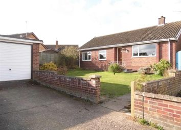 Thumbnail 3 bedroom detached bungalow for sale in Westfields, Narborough, King's Lynn