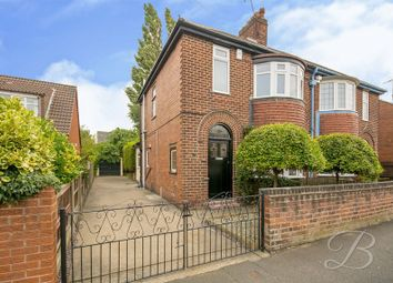 Thumbnail 3 bed semi-detached house for sale in Morven Avenue, Mansfield Woodhouse, Mansfield