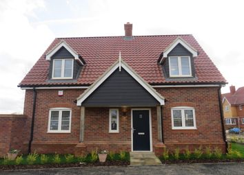 Thumbnail 3 bed link-detached house for sale in Church Road, Otley, Ipswich