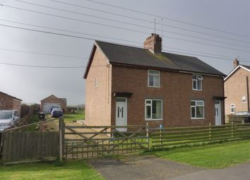 Thumbnail 3 bed semi-detached house for sale in High Street, Maxey, Peterborough