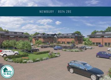Thumbnail 2 bedroom flat for sale in Lambourn Square, Newbury