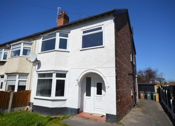 Thumbnail 3 bed semi-detached house to rent in Neville Road, Bromborough, Wirral