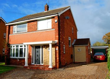 Thumbnail 3 bed detached house for sale in Churchill Avenue, Cottingham, North Humberside