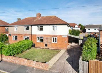 Thumbnail 3 bed semi-detached house for sale in Elm Road, Exmouth