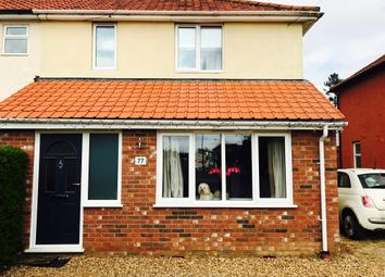Thumbnail 4 bedroom semi-detached house for sale in Blackwell Avenue, Sprowston, Norwich
