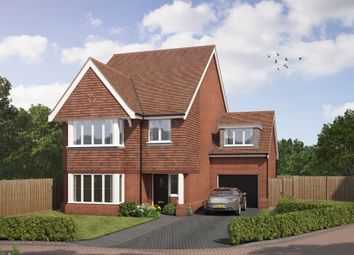 "Thumbnail 4 bed detached house for sale in ""The Brimstone"" at Old Bisley Road, Frimley, Surrey, Frimley"
