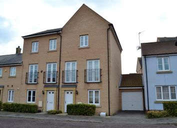 Thumbnail 4 bed town house for sale in Kirk Way, Colchester