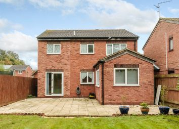 Thumbnail 4 bedroom link-detached house for sale in Partridge Grove, Peterborough