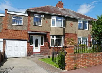 Thumbnail 4 bed semi-detached house for sale in Baroness Drive, Denton Burn, Newcastle Upon Tyne