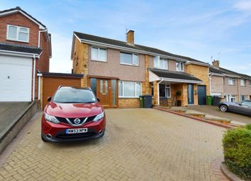 Thumbnail 3 bed semi-detached house for sale in Quarry Lane, Broadfields, Exeter, Devon