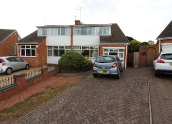 Thumbnail 3 bedroom semi-detached house for sale in Holbeche Crescent, Fillongley, Coventry