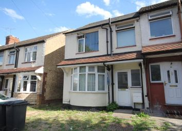 Thumbnail 3 bed semi-detached house to rent in Runely Road, Luton, Bedfordshire LU1 1Tu