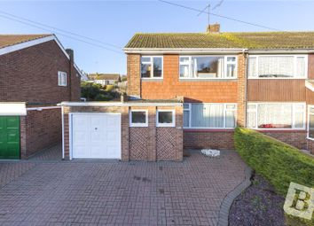 Thumbnail 3 bed semi-detached house for sale in Brookside Road, Istead Rise, Gravesend, Kent