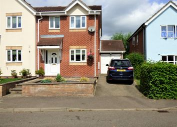 Thumbnail 3 bedroom semi-detached house for sale in Strawberry Fields, Haverhill