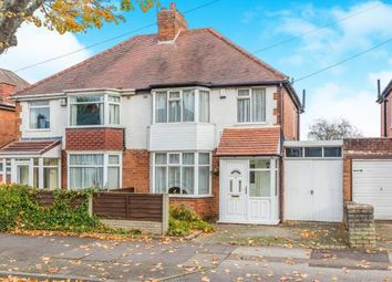 Thumbnail 3 bed semi-detached house for sale in Lockwood Road, Birmingham, West Midlands