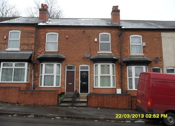 Thumbnail 4 bed terraced house to rent in Wellington Road, Perry Barr, Birmingham