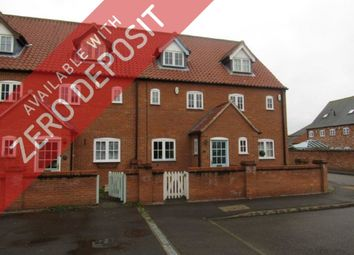 Thumbnail 3 bed town house to rent in Old Rectory Gardens, Sturton By Stow, Lincoln