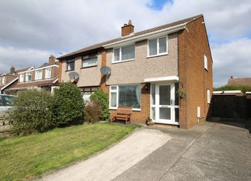 Thumbnail 3 bedroom semi-detached house for sale in Westmorland Crescent, Bangor