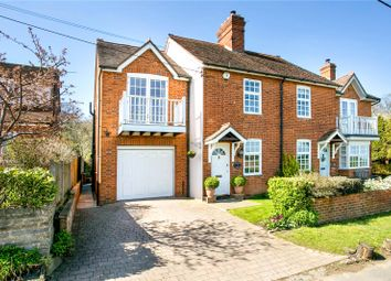 Thumbnail 3 bedroom semi-detached house for sale in Highwood Cottages, Grubwood Lane, Cookham, Maidenhead