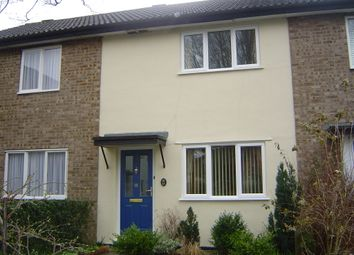 Thumbnail 2 bedroom terraced house to rent in Cannon Fields, Bury St. Edmunds