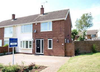 Thumbnail 4 bed semi-detached house to rent in Cherry Tree Road, Stapenhill, Burton-On-Trent, Staffordshire