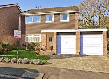 Thumbnail 4 bed detached house for sale in Bepton Close, Midhurst, West Sussex