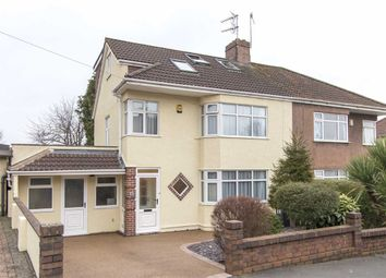 Thumbnail 4 bedroom semi-detached house for sale in Braemar Crescent, Filton Park, Bristol