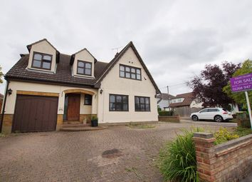 Thumbnail 5 bed detached house for sale in Leonard Drive, Rayleigh