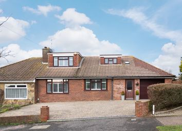 Thumbnail 4 bed semi-detached bungalow for sale in Hill Farm Way, Southwick, Brighton