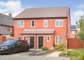Thumbnail 2 bed semi-detached house for sale in Watermans Road, Waterbeach, Cambridge