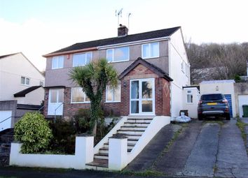 3 bed semi-detached house for sale in Donnington Drive, Higher Compton, Plymouth PL3
