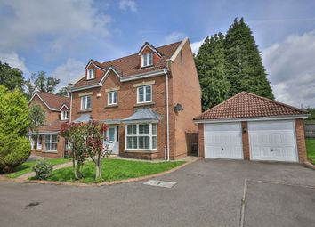 Thumbnail 5 bed detached house for sale in Llewelyn Goch, St. Fagans, Cardiff