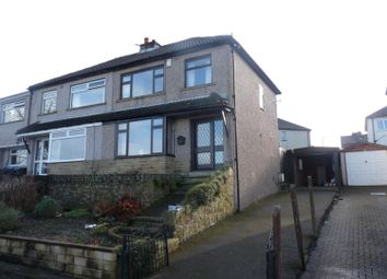 Thumbnail 3 bed semi-detached house to rent in Parkside Court, Crossroads, Keighley