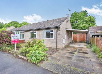 Thumbnail 2 bedroom semi-detached bungalow for sale in Recreation Road, Toftwood, Dereham