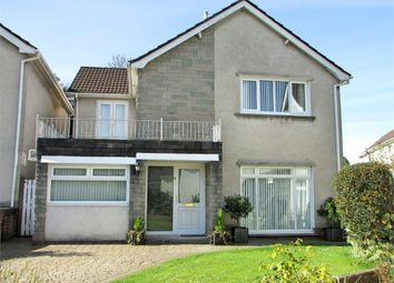Thumbnail 4 bed detached house for sale in Trenewydd Rise, Cimla, Neath, West Glamorgan