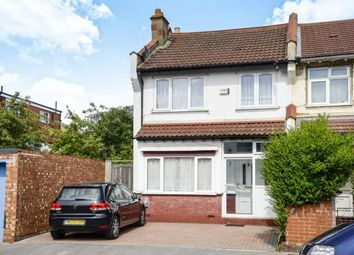 Thumbnail 3 bed end terrace house for sale in Norman Road, Thornton Heath