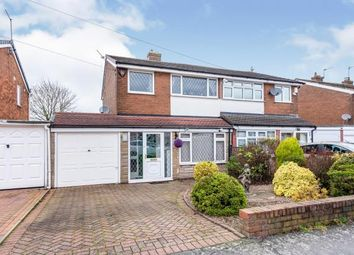 Thumbnail 3 bed semi-detached house for sale in Quinton Avenue, Great Wyrley, Walsall, Staffordshire