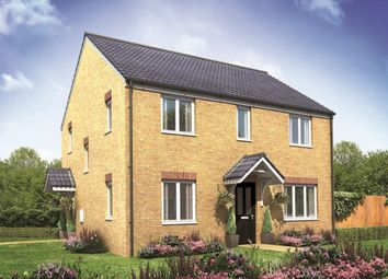 "Thumbnail 4 bedroom detached house for sale in ""The Chedworth Corner"" at Drayton High Road, Hellesdon, Norwich"