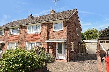 Thumbnail 3 bed semi-detached house for sale in The Glade, Furnace Green, West Sussex
