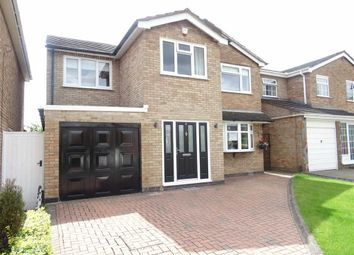 Thumbnail 4 bed detached house for sale in Primrose Drive, Burbage, Hinckley