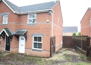 Thumbnail 2 bed semi-detached house for sale in St. Marks Close, Worksop