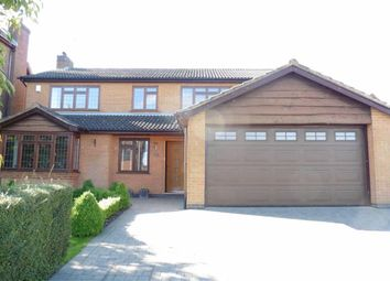 Thumbnail 4 bedroom detached house for sale in Cambourne Road, Burbage, Hinckley
