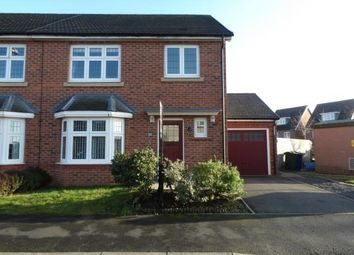 Thumbnail 3 bed semi-detached house for sale in Dorset Drive, Buckshaw Village, Chorley, Lancashire