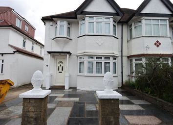 Thumbnail 4 bed semi-detached house to rent in Kenver Avenue, London
