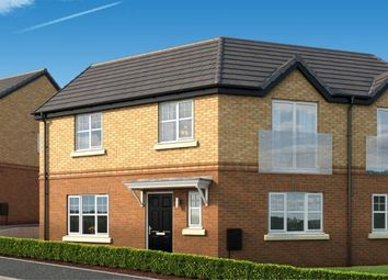 "Thumbnail 3 bed property for sale in ""The Moulton At The Woodlands"" at Newbury Road, Skelmersdale"